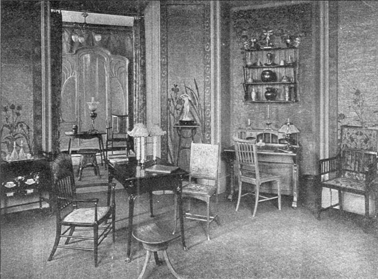 Siegfried bing clio s calendar daily musings on architectural history - Maison de l art nouveau ...