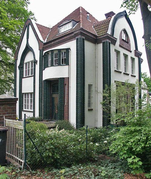 Twentieth century architecture clio s calendar daily for Behrens house