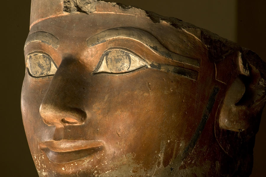 the life and death of queen hatshepsut Hatshepsut starts a program of aggressive trade with the outside world she commissions her architect, senenmut, to build an impressive funerary temple on th.